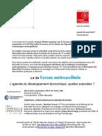Le Forum Gomet' - Caisse des dépôts sur l'Agenda du développement économique