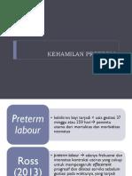(K24) Persalinan prematur