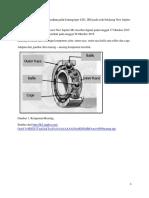 Analisa Kegagalan Dan Kerusakan Pada Bearing Type 6301 RS Pada Roda Belakang New Jupiter Mx