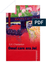 G.K. Chesterton - Omul care era Joi
