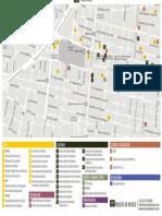 Mapa Museos Centro Historico Mexico