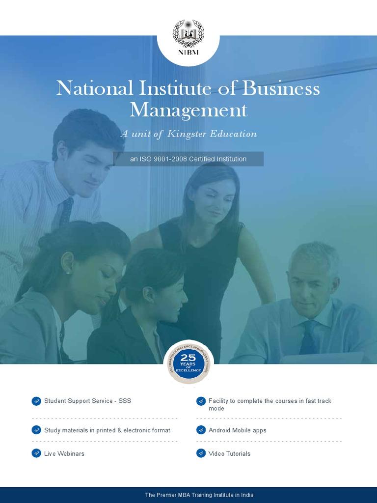 Nibm Prospectus Application Form Master Of Business Administration Debit Card
