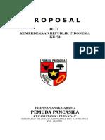 Jilid Proposal Pemuda Pancasila