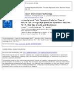 Computational Fluid Dynamics Study for Flow Of