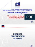 BPS Product Certification - Philippines