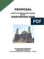 Jilid Proposal Darussolihin