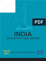 ACHR Death Without Legal Sanction