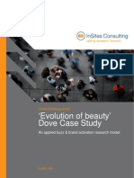 Evolution of Beauty Dove Case Study
