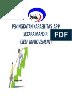 C.01.Bahan Ajar Nov 2015 - Self Improvement Kapabilitas APIP