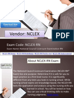 2017 Admission Tests NCLEX-RN Dumps | Examcollection.in