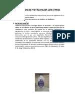 Alquilación a Partir de Pnitroanilina (1)