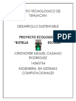 PROYECTO ECOLOGICO