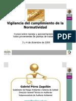 Vigilancia Del Cumplimiento de La Normatividad