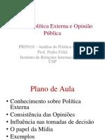 Aula 4 Política Externa e Opinião Pública