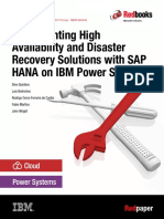 Implementing High Availability and DR Solution