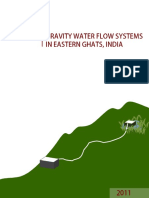 Gravtiy Water Flow Systems in Eastern Ghats