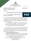 RBI Guidelines Jan 2015 - Cost Overrun Financing