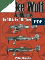 Focke Wulf Jagdflugzeug Fw190A,Fw190 Dora,Ta152H Peter Rodeike