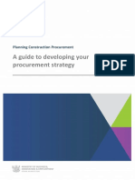 Construction Guidelines - Strategy Development