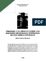 Alberto Bueno Mendoza - Tiwanaku y El Impacto Sobre Las Naciones Regionales Temparanas de Los Andes Centrales.