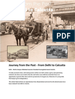 Journey From the Past - From Delhi to Calcutta