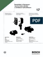 Hydrostatic Fan Drives for Motor Vehicles