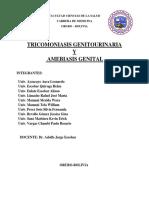 Ginecologia - Disertacion de Trichomona Vaginalis y Amebiasis Genital