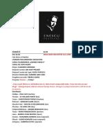 Programul Complet Al Festivalului Enescu 2017