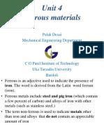 Unit 4 Ferrous Material