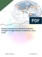 Global Polyethylene Market (2016-2024)- Research Nester