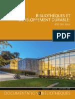 Bibliothèques et décroissance