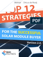 Top12 Strategies for the Successful Solar Module Buyer