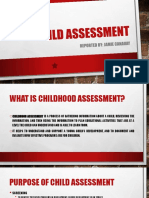 Child Assessment PPT