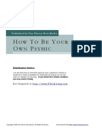 44634 How to Be Your Own Psychic
