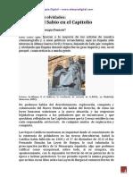Alfonso x El Sabio en El Capitolio