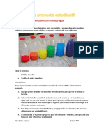 Cómo Crear Un Xilófono Casero Con Botellas y Agua