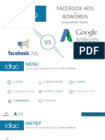 Facebook Ads vs AdWords