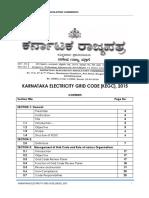 Karantaka Electricity Grid Code KEGC