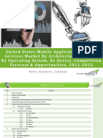 US Mobile Application Testing Services Market Forecast & Opportunities, 2022-Brochure