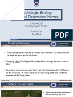 530AM - Harvey Flood Forecast Briefing 8-31-17