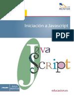 Iniciación a Javascript Aula Mentor