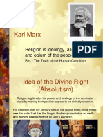 Karl Marx Report