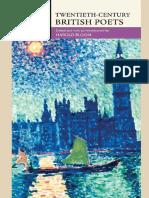 Twentieth-Century British Poets