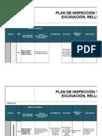 ITP - Excavación y Compactado