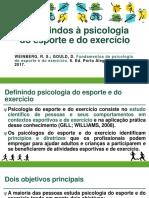 Aula 01 - Introdução a Psicologia Do Esporte