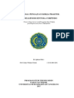 Proposal Pengajuan Praktek Kerja Lapangan