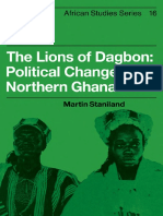 Martin Staniland the Lions of Dagbon
