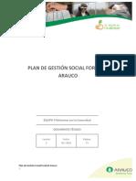 Arauco - 2016 Plan de Gestión Forestal