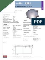 171301 Multido Specification Sheet A