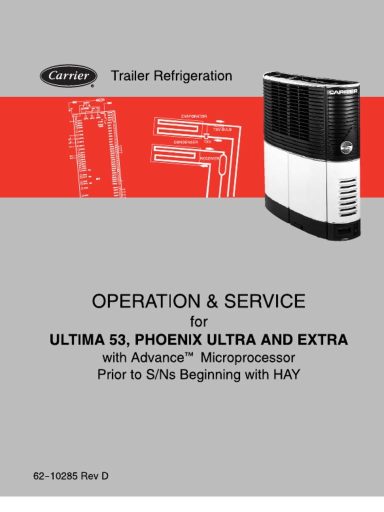 carrier transicold manual timer leak rh scribd com carrier vector 8600 service manual carrier vector 1550 service manual